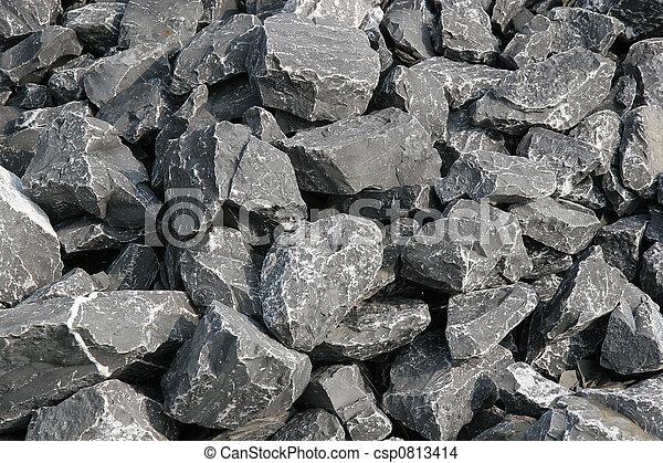 fluß, steinen - csp0813414