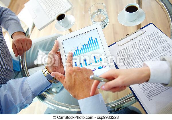 fluctuations, financier - csp9933223