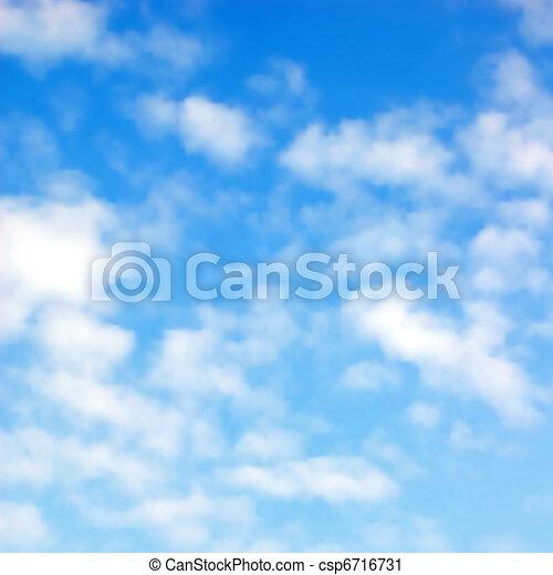 Fluffy clouds - csp6716731