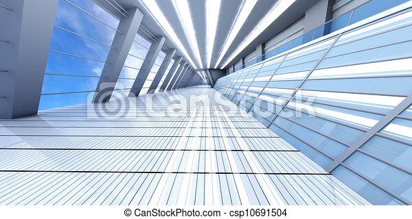 flughafen, architektur - csp10691504