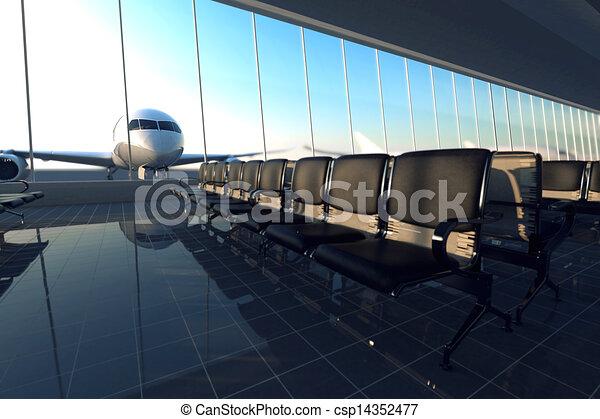 Flughafen. - csp14352477