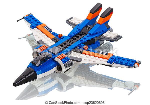 Flugzeug Lego Düse Schöpfer Lego Gruppe Tambov Gehalten
