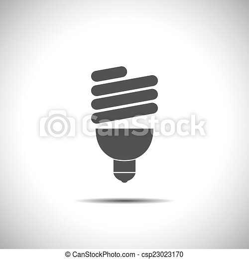 fluorescent light bulb - csp23023170