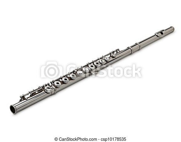 Flute Isolated on White - csp10178535