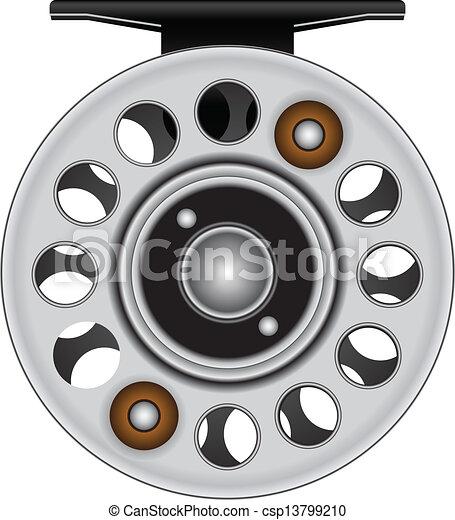 Fly fishing reel - csp13799210