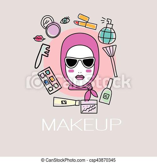 Makeup Artists Drawings