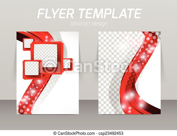 Flyer template - csp23492453