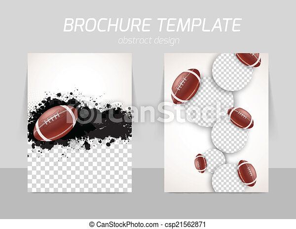 flyer template design csp21562871