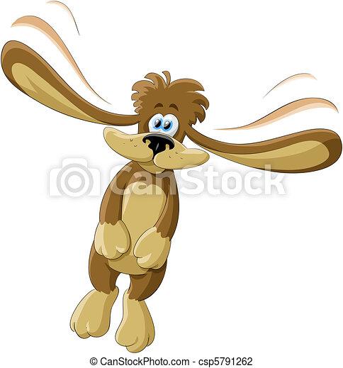Flying dog - csp5791262