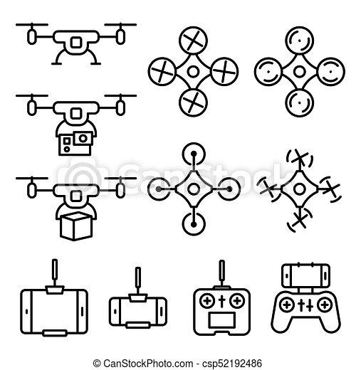 Quadcopter Diagram