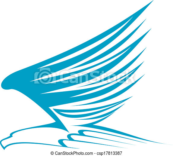 Flying eagle - csp17813387