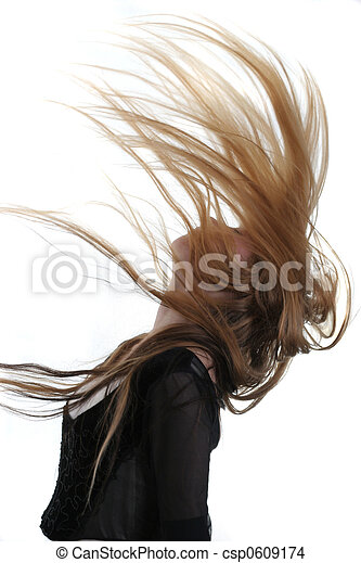 Flying hair - csp0609174
