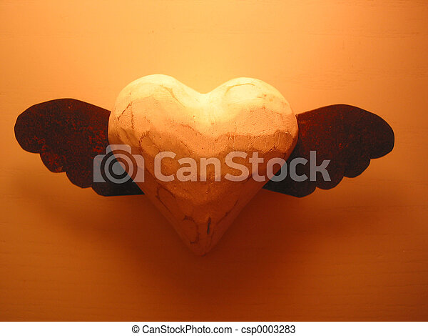 Flying heart - csp0003283