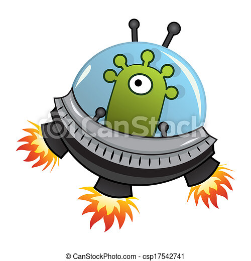 flying saucer spaceship with green one eye alien inside eps vector search clip art flying saucer image clipart Fly Clip Art