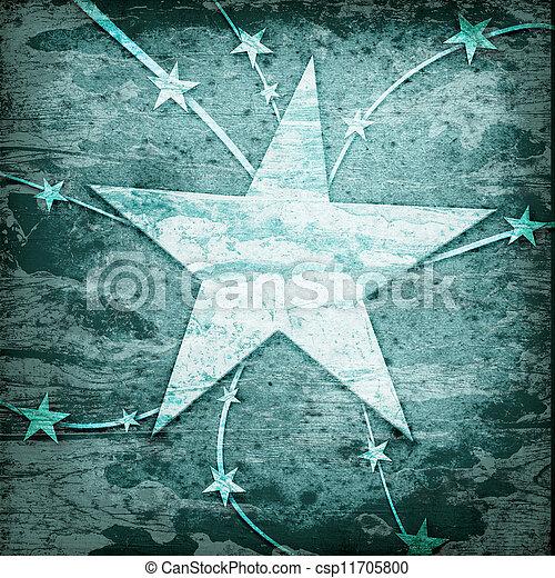 fodrar, grunge, stjärnor - csp11705800