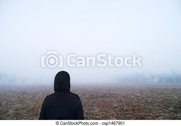 Fog Walk - csp1467901