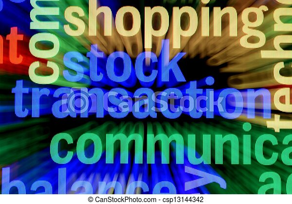 fogalom, részvény, lebonyolítás - csp13144342