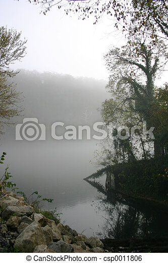 Foggy waters - csp0011806