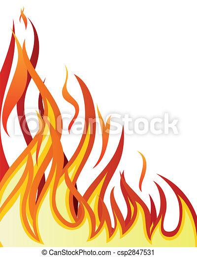 fogo, fundo - csp2847531