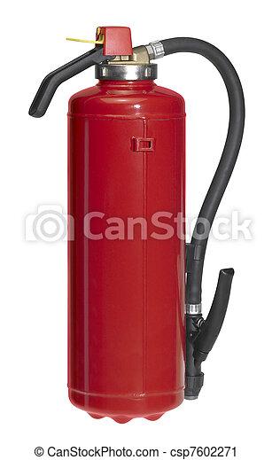 fogo, vermelho, drencher - csp7602271