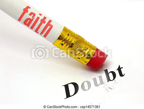 foi, doute, erases - csp14571361