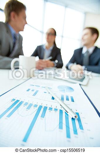 fokus, finanz - csp15506519