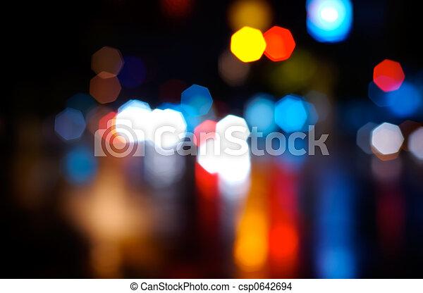 fokus, heraus - csp0642694