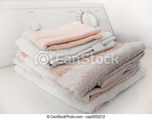 Folded Towels - csp0002212