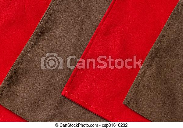 Folded towels - csp31616232