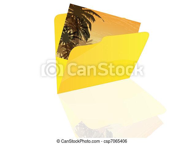 Folder icon  - csp7065406