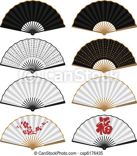 Folding Fan - csp6176435