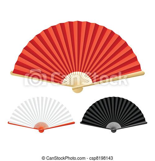 Folding fan - csp8198143