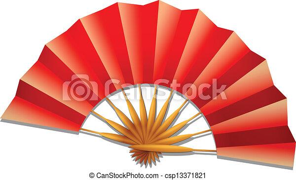 folding fan - csp13371821