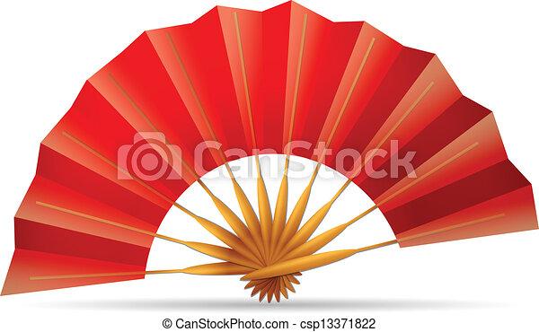 folding fan - csp13371822