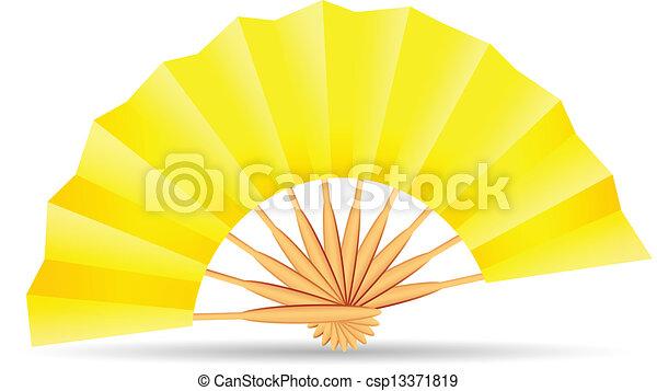 folding fan - csp13371819