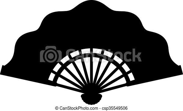 Folding fan - csp35549506