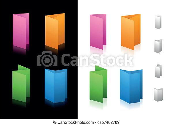 Folding Icons - csp7482789