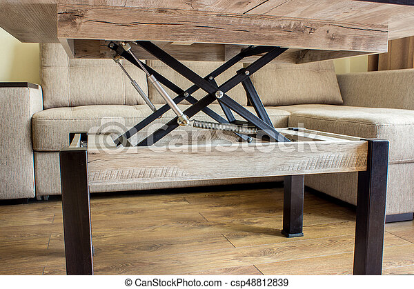 Transformer Coffee Table.Folding Table In The Room Table Transformer