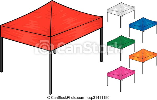 folding tent collection  - csp31411180