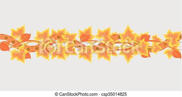 folhas, maple - csp35014825