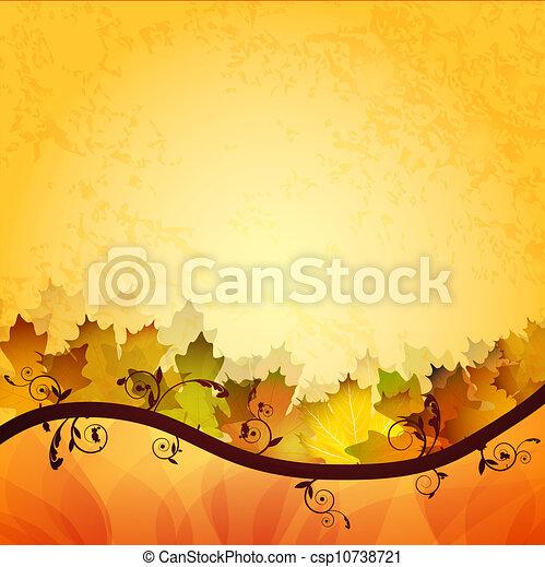 folheia, outono - csp10738721