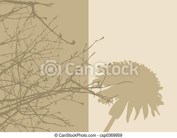 Foliage panels - csp0369959