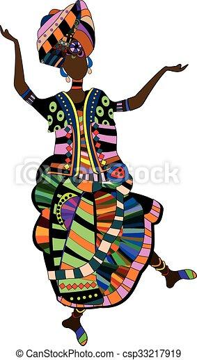 folk dance - csp33217919