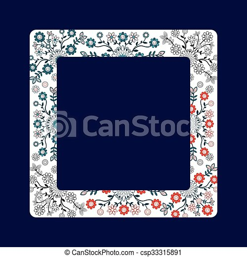 Folk design - csp33315891