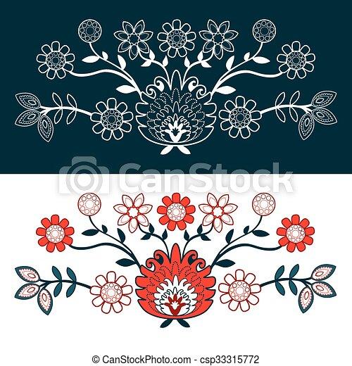 folk design - csp33315772