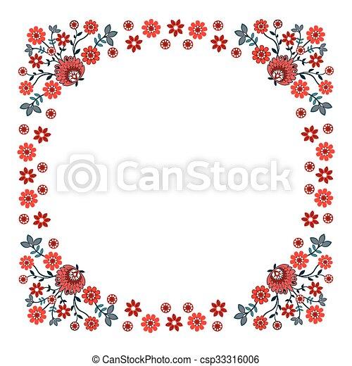 Folk design - csp33316006