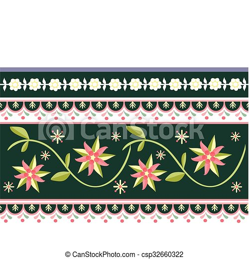 Folk labels - csp32660322
