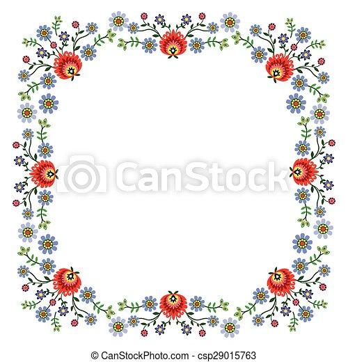 folk pattern - csp29015763