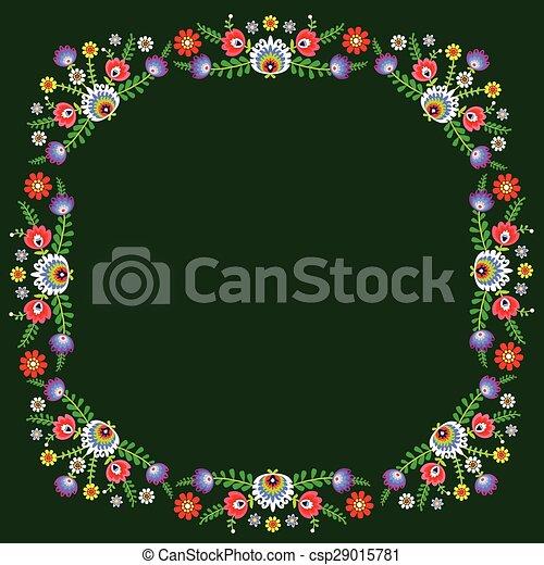 folk pattern - csp29015781
