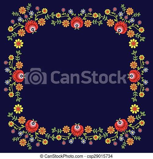 folk pattern - csp29015734